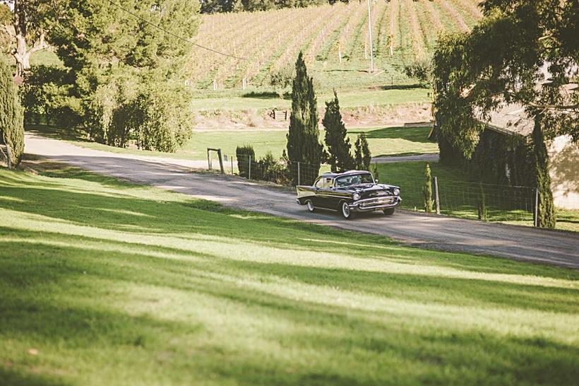 Uleybury wines wedding